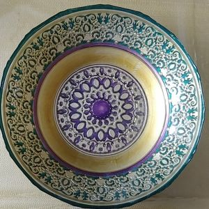 Hand-painted Ceramic Dish Plate